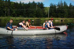 upstream trip