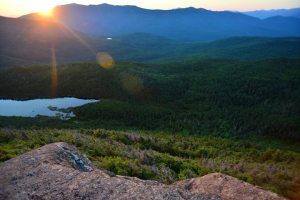Kinsman Pond from top of N Kinsman Peak - Presidentials range
