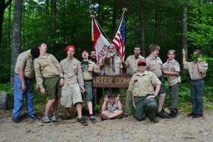 2014 Camp Bell - Troop 8 - crazy