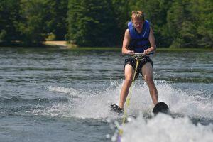 waterskiing kyle